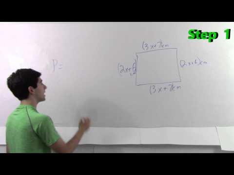 Perimeter and Area Using Polynomials