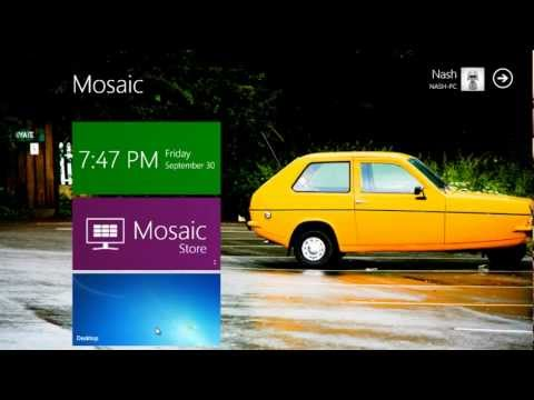 Make windows 7 look like Windows 8 in 5 minutes.