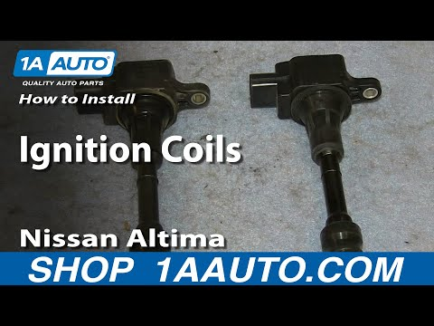 How To install Replace Ignition Coils 2.5L 2002-06 Nissan Altima