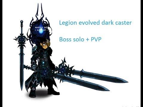 AQW Evolved Dark Caster boss solo + PVP