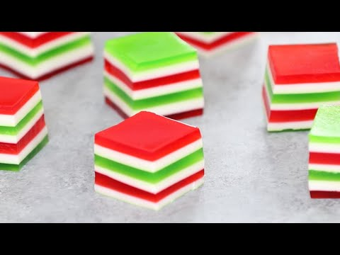 Layered Jello Shots