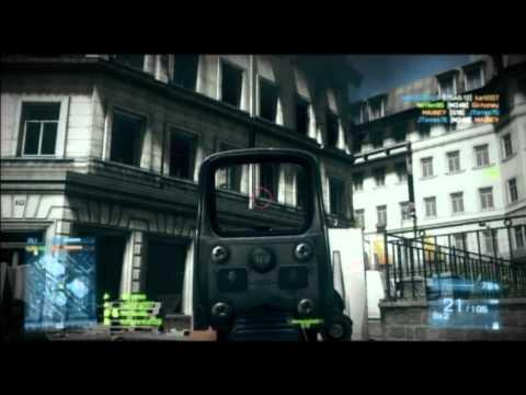 Battlefield 3: TDM Gameplay Operation Metro (SCAR-H)