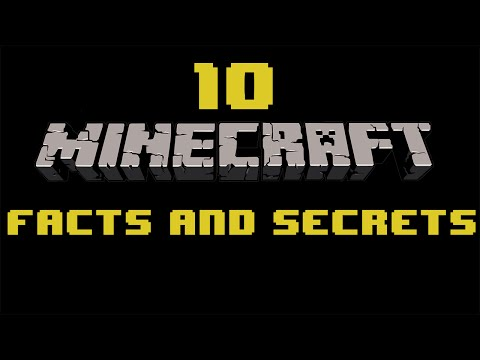 10 Minecraft Facts and Secrets