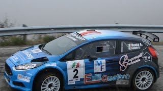 Best of Ford Fiesta R5 racing rally: sideways, curves & pure sound