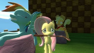 FLUTTERSHY FINDS A PET WTF MY LITTLE PONY RIDE COMIC DUBS