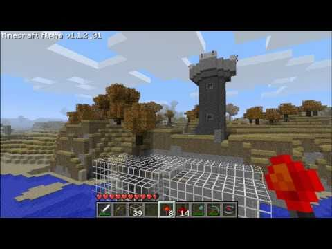Minecraft beacon tower
