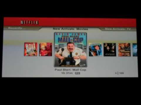 Netflix on PS3, instant streaming with a Netflix Disc