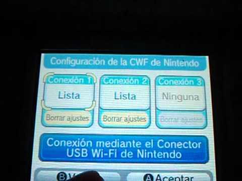 Tranferencia Wifi Nintendo DSi Nintendo DS
