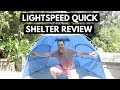 Lightspeed Quick Shelter Review