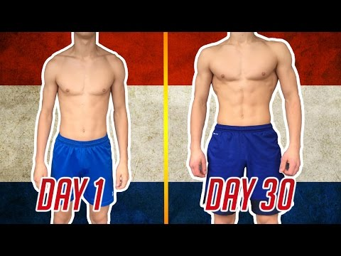 200 PUSH-UPS A DAY FOR 30 DAYS [MY BODY RESULTS]