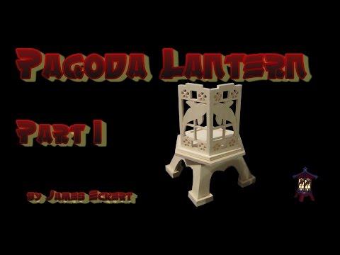 Making a Pagoda Lantern Part 1