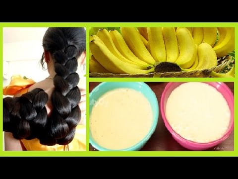 2 ways to get Silky, Smooth, Soft, Shiny, and Strong hair using *BANANA*