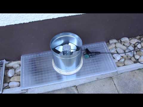Quick Workshop Exhaust Fan