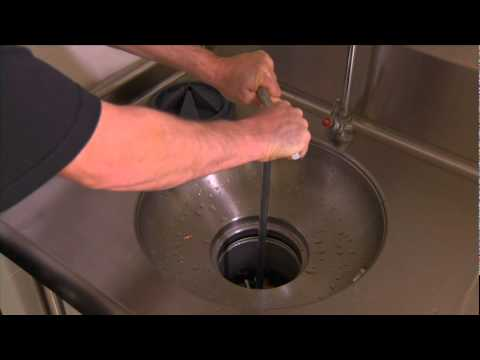 Insinkerator Commercial Garbage Disposer Operation