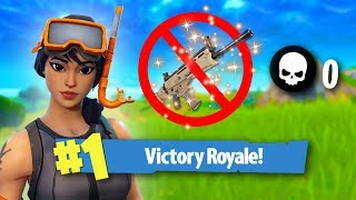 WINNING A GAME WITHOUT A SINGLE KILL CHALLENGE!   Fortnite Battle Royale