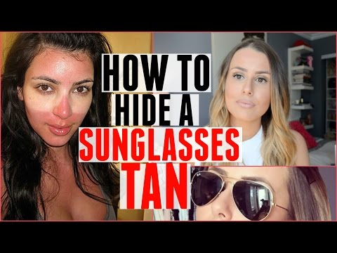 HOW TO HIDE A SUNGLASSES TAN! | SUMMER HACK!