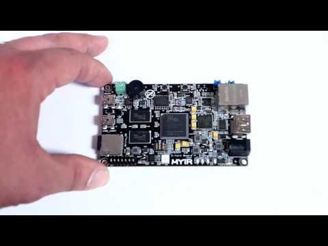 MYIR Z-turn Board Xilinx 7-series FPGA logic ARM Cortex-A9 System-on-Chip