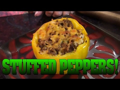 Mariah Milano's Stuffed Peppers!