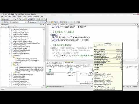 SQL Server  Examinging Query Execution Plans, Pt. 2