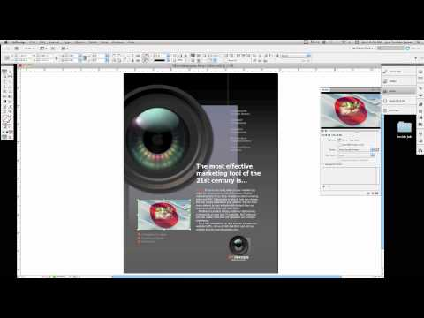Placing a Video in Indesign CS5.mov