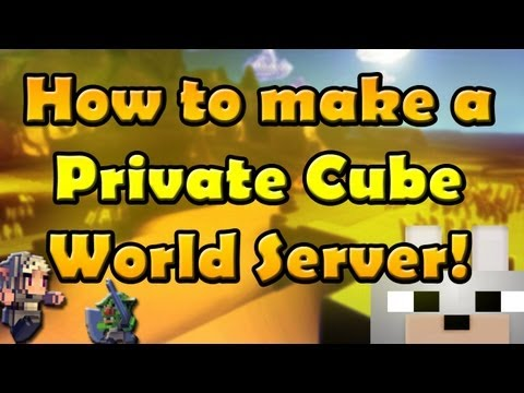 Cube World - How to make a Private Server! (Hamachi) (Windows) Easy and Simple!