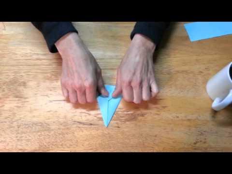 ASMR Origami Crane Binaural Paper Sounds