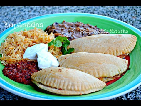 Empanadas Recipe | How To Make Vegetarian Baked Empanadas - Cooking with Mitisha