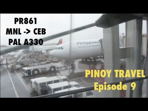 PINOY TRAVEL Ep. 9 : Philippine Airlines A330 | Manila to Cebu | Part 1/2