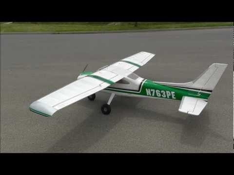 Cessna 182 skylane 65inch balsa maiden flight