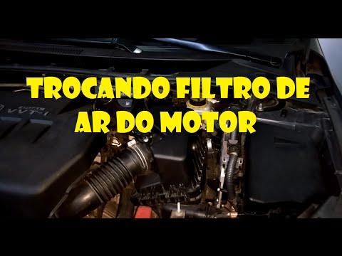 Turorial - Como Trocar o Filtro de Ar do Motor Toyota Corolla