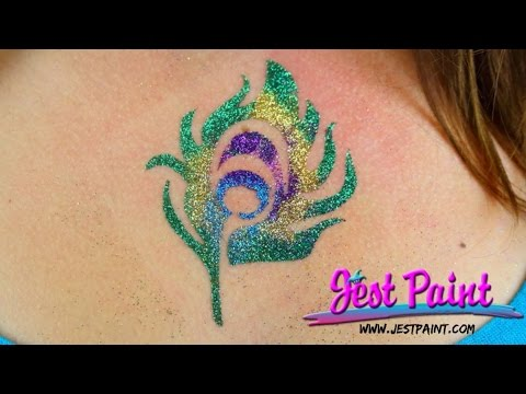 How to do Glitter Tattoos