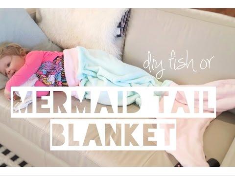 DIY MERMAID OR FISH TAIL BLANKET   Kids Sewing - Mummy Maker