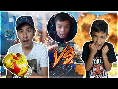 *OMG* I Trolled My Little Brother With A Melee Weapon! Black Ops 3 1v1!