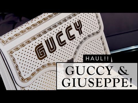 IT'S A HAUL WITH GUCCY & GIUSEPPE!!!   Sonal Maherali