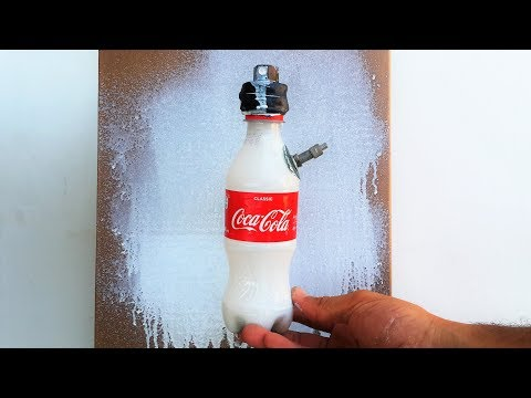 How to make spray paint at home