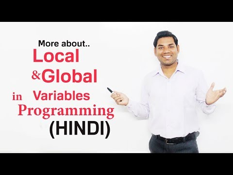 More about Local and Global Variables in C/C++(HINDI)