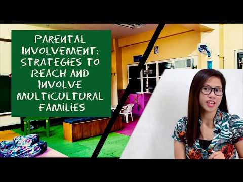 Parental Involvement: Strategies to Reach and Involve Multicultural Families