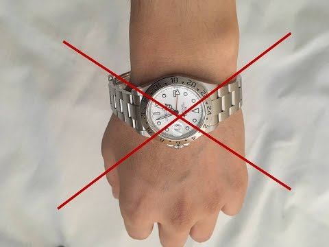 Keep Your Game Tight: Don't Wear Your Watch Bracelet Too Loose