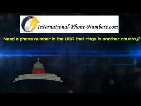 International Phone Numbers for Local and Toll Free Numbers
