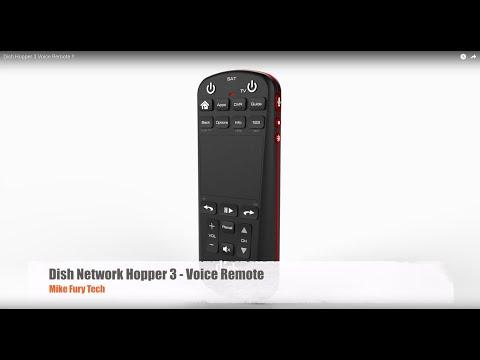 Dish Hopper 3 Voice Remote !!