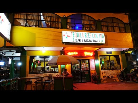 Best Place to Eat in Angeles City, Philippines - Tequila Reef Cantina Bar and Restaurant