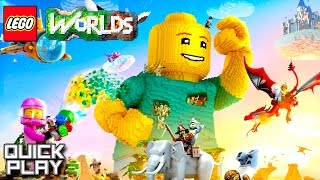Download LEGO Worlds Gameplay - First 20 Minutes! (Quick Play) Video