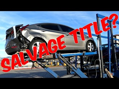 HOW TO REGISTER SALVAGE TITLE CAR IN CALIFORNIA