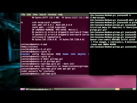 Setting up a Git Server