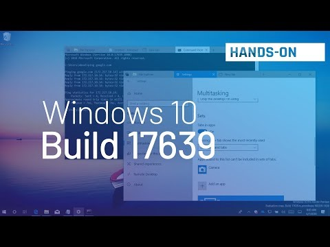 Windows 10 build 17639: Hands-on with Sets, Settings, and more