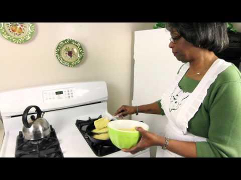 Marian's Kitchen Episode One (HotWater Cornbread)