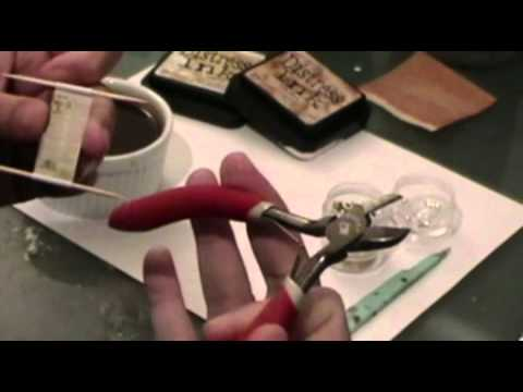 How To Make Dollhouse Miniature Scrolls Part 1
