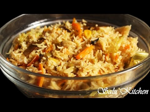 Quick &  Easy  Vegetable Biriyani in Pressure Cooker