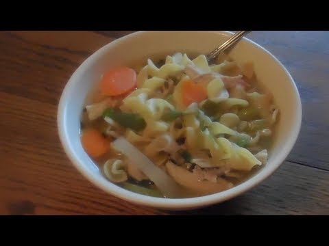 Chicken Noodle and Vegetables E233