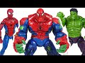 Marvel Avengers Hulk And Spider Man Combine Spider Hulk Defeat The Thanos DuDuPopTOY